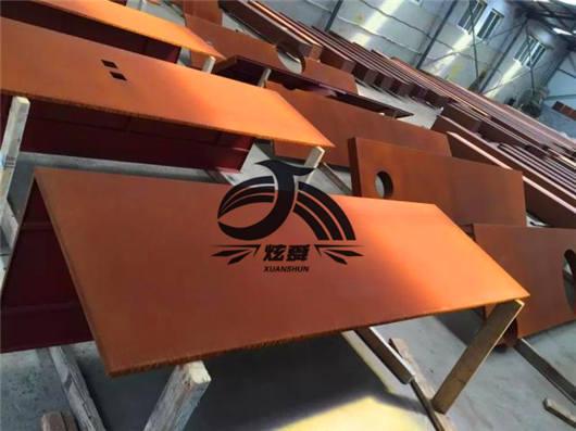 上海Q235NH耐候钢板厂家:厂家检修现货资源不多价格能起来吗