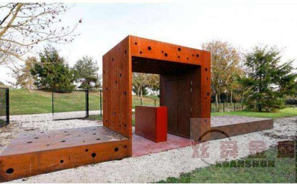Q235NH耐候钢板怎么喷漆